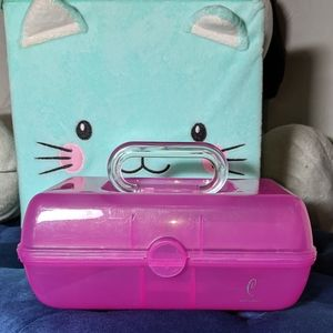 GUC Caboodles Mini Case Hot Pink GUC